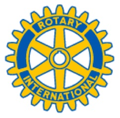 Rotary wheel logo