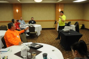 Randy Antonio from Winnipeg SAR presents on Project Lifesaver.